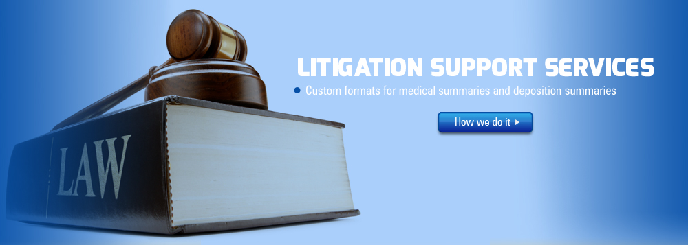 Pacific Data Labs has been providing Litigation Support Services to a number of copying companies, medical records custodians, solo lawyers, law firms, corporate counsels and in-house counsels for managing their documents